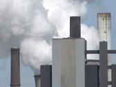 Lignite-fired power plant Niederaussem, Germany Stock Footage