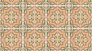 Seamless tile pattern Stock Footage