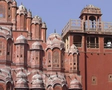 Hawa Mahal Stock Footage