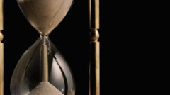 Hourglass rotating - stock footage