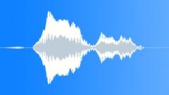 Scream Frightened Male BB 13 Sound Effect