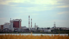 Architecture of power stations Stock Footage