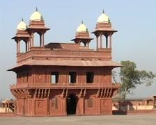 Fatehpur Sikri, ruins city Stock Footage