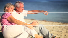 Montage of Sport & Leisure in Retirement Stock Footage