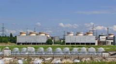 Nuclear energy Stock Footage