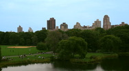 Stock Video Footage of Baseball field in Central Park, New York