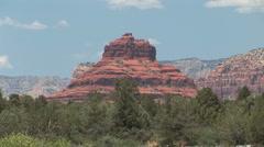 Bell Mountain- Sedona, AZ Stock Footage