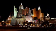 Stock Video Footage of vegas-ny-ny-timelapse
