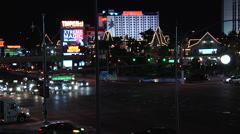 Las Vegas time lapse 2 Stock Footage