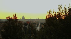 Churches  in rome Stock Footage