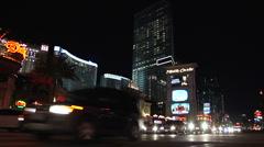 Las Vegas time lapse 6 Stock Footage