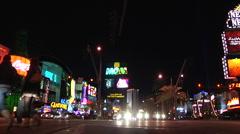 Las Vegas time lapse 5 Stock Footage