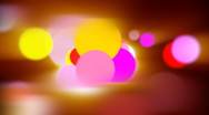 Defocused Particles. Loop. Stock Footage