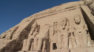 Stock Video Footage of Abu Simbel Temple