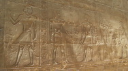 Stock Video Footage of Luxor Temple Hieroglyphs
