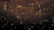 3D Hieroglyphs 01 Stock Footage
