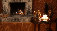Fireplace Stock Footage