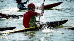 Canoe Polo Stock Footage