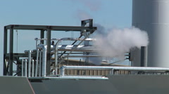 Solar Steam and mirror Time lapse Stock Footage