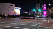 Stock Video Footage of Miami at night 07