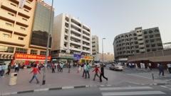 Dubai City Stock Footage