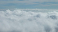 Above the clouds (Time Laps) Stock Footage
