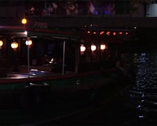 Bumboats Arriving at Clarke Quay, Singapore_GFSD Stock Footage