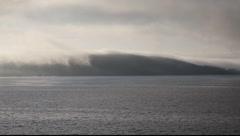 Navigating at North Sea. Norway Stock Footage