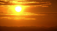 Stock Video Footage of Time lapse Sunset or Sunrise , New Day or New Dawn