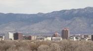 View of Albuquerque Stock Footage