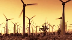 Wind Power 204 HD 1080p Stock Footage