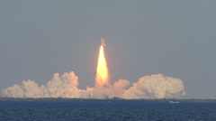 Stock Video Footage of Space Shuttle Discovery Final Launch 2-24-2011 4:50PM