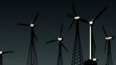 Wind Power 209 HD 720p Stock Footage