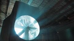 Ventilation fan 1110 HD Stock Footage