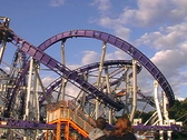 Rollercoaster Stock Footage
