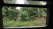 Train, Sri Lanka Stock Footage