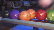 Stock Video Footage of bowling