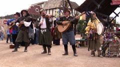 ren fest 5 - stock footage