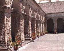 Santa Catalina monastery Stock Footage