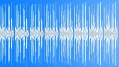 medium tempo bass track LOOPABLE - 100 bpm - stock music