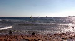 Windsurfing Stock Footage