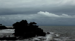 Pura Tanah Lot Hindu Temple, Tabanan, Bali, Indonesia Stock Footage