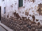 Stock Video Footage of Inca architecture in street and house