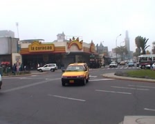 Miraflores, traffic Stock Footage