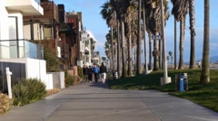 HD Venice Beach Los Angeles - stock footage