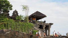 Tanah Lot Temple  Stock Footage