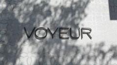 Voyuer Nightclub 01 HD - stock footage
