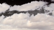 HD with alpha v2 Storm front moves in to drop snow on mountains Stock Footage