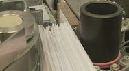 Stock Video Footage of mail sorting machine