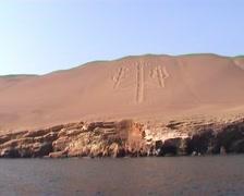 Paracas, Candelabra - stock footage
